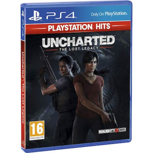 Uncharted: The Lost Legacy (Playstation Hits) - PS4