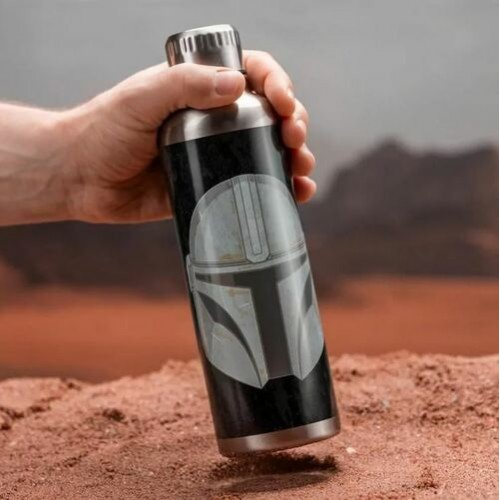 Μπουκάλι νερού μεταλλικό The Mandalorian – Star Wars
