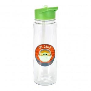 Πλαστικό μπουκάλι νερού + αυτοκόλλητα The Child – Star Wars