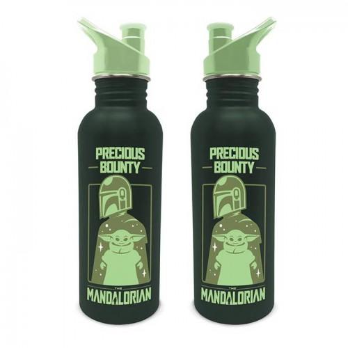 Μεταλλικό μπουκάλι Star Wars The Mandalorian Precious Bounty