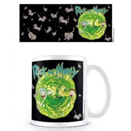 Κούπα Rick and Morty - Floating Cat Dimension