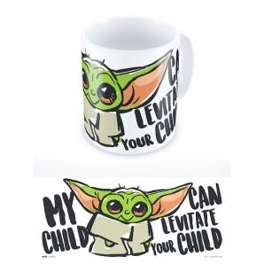 Κούπα Star Wars The Mandalorian - My Child Can Levitate Your Child