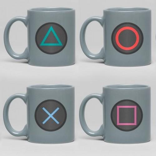 Κούπες Set PlayStation Buttons