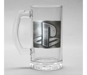 Γυάλινο Ποτήρι Playstation