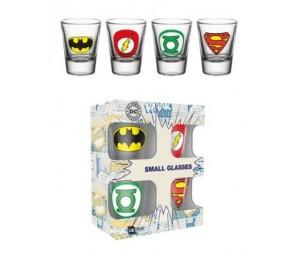 Σφηνοπότηρα DC Comics Logos