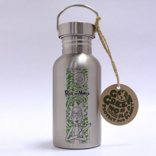 Μεταλλικό μπουκάλι Rick and Morty - Portal