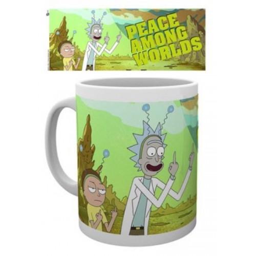 Κούπα Rick and Morty - Peace