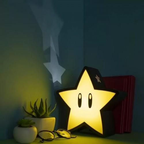 Φωτιστικό Super Star με projection αστέρια – Super Mario Bros