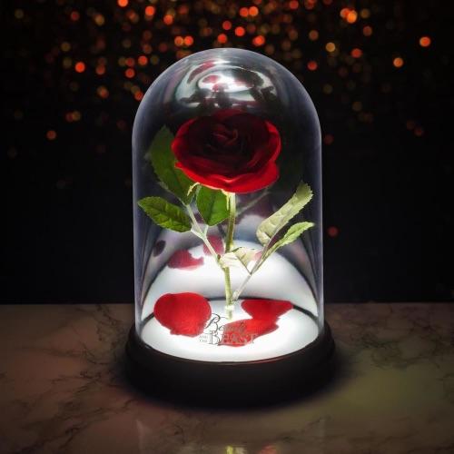 Φωτιστικό Enchanted Rose Light - Beauty and Beast