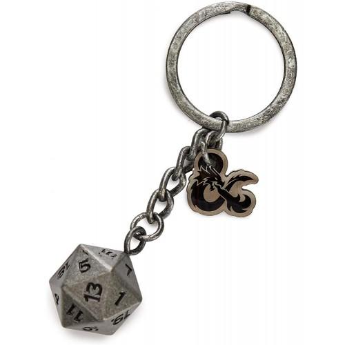 Μπρελόκ ζάρι D20 – Dungeons & Dragons