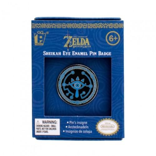 Pin Sheikah Eye Enamel Badge – The Legend of Zelda