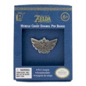 Pin Hyrule Crest Enamel Badge – The Legend of Zelda