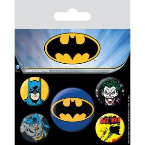 Pins Set Batman DC