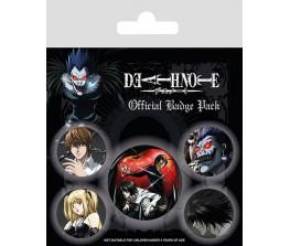 Pins Set Death Note Χαρακτήρες