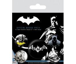 Pins Set Batman DC - Logo