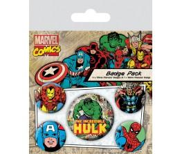 Pins Set Hulk - Marvel Comics