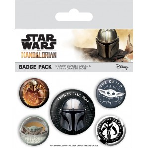 Pins Set Star Wars The Mandalorian - This Is The Way
