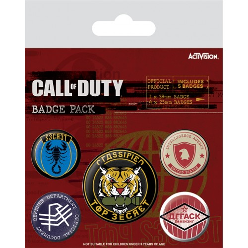 Pins Set Call of Duty - Black Ops Cold War