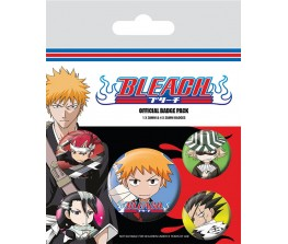 Pins Set Bleach - Chibi Characters