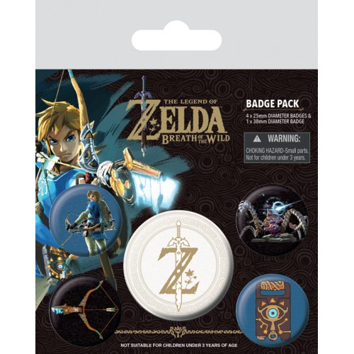 Pins Set The Legend of Zelda - Breath Of The Wild