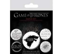 Pins Set Game of Thrones - Winter is Coming