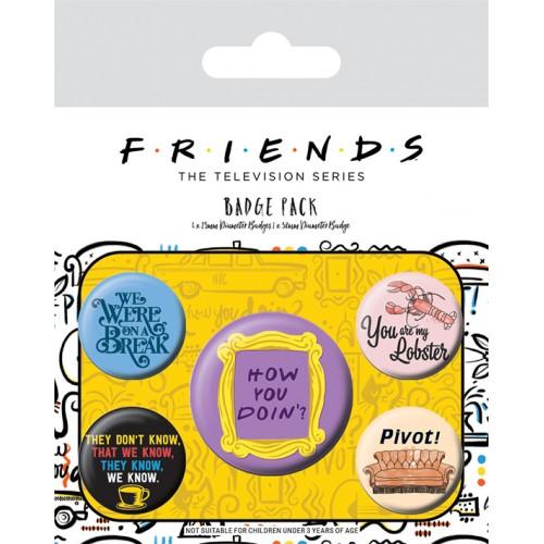 Pins Set Friends - Quotes