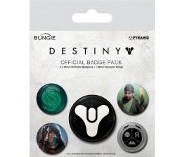 Pins Set Destiny - Guardians of Light