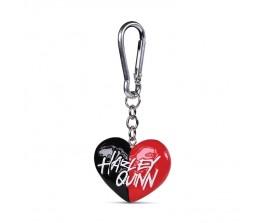 Μπρελόκ 3D Harley Quinn - Heart