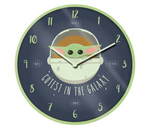 Ρολόι τοίχου The Mandalorian Star Wars