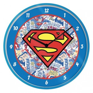 Ρολόι τοίχου Superman DC