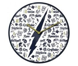Ρολόι τοίχου Harry Potter Infographic