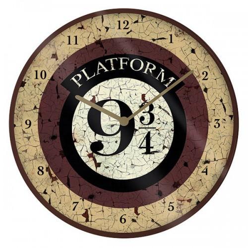 Ρολόι τοίχου Harry Potter Platform 9 3/4