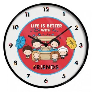 Ρολόι τοίχου Friends Life is Better