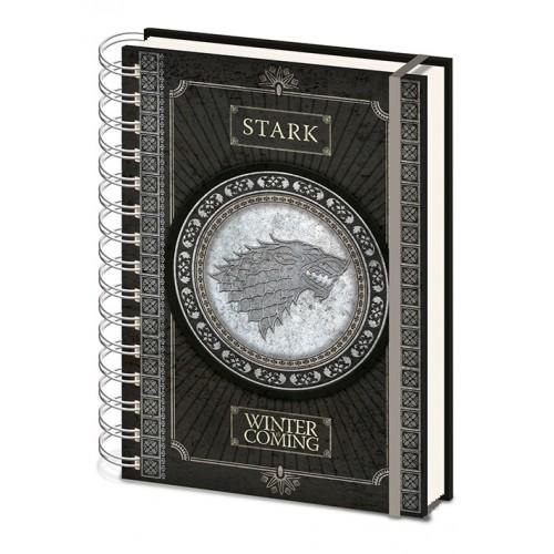 Σημειωματάριο Game of Thrones - Stark
