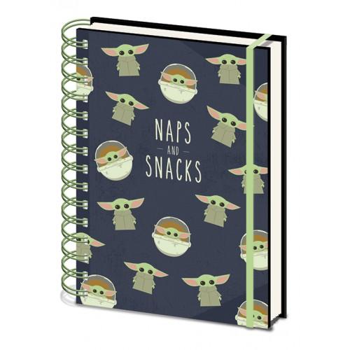Σημειωματάριο Star Wars The Mandalorian - Naps and Snacks