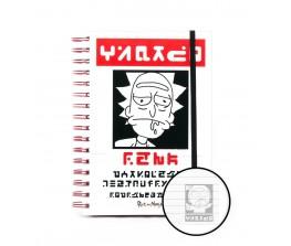 Σημειωματάριο Rick and Morty - Wanted Notes