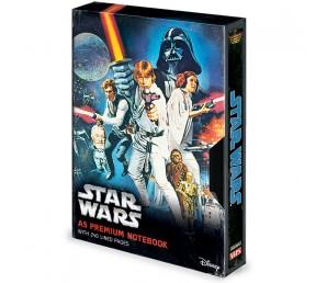 Σημειωματάριο Star Wars - A New Hope VHS