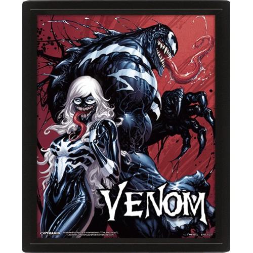Κάδρο 3D Venom - Teeth And Claws