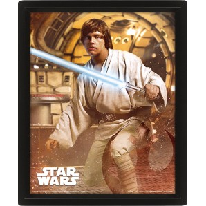 Κάδρο 3D Star Wars - Vader Vs Skywalker