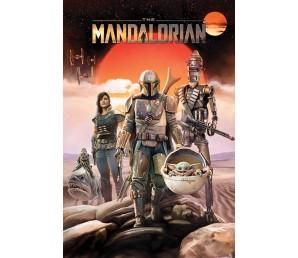 Αφίσα Star Wars - The Mandalorian Group