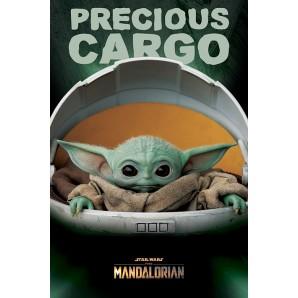 Αφίσα Star Wars The Mandalorian - Precious Cargo