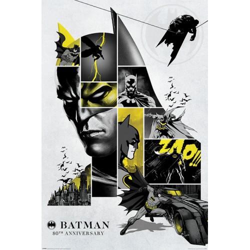 Αφίσα Batman - 80th Anniversary