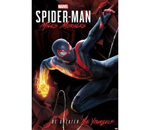 Αφίσα Spiderman Miles Morales - Cybernetic Swing