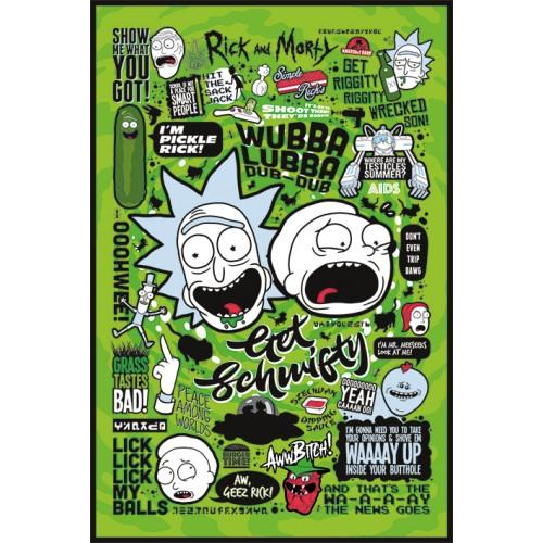 Αφίσα Rick and Morty - Quotes