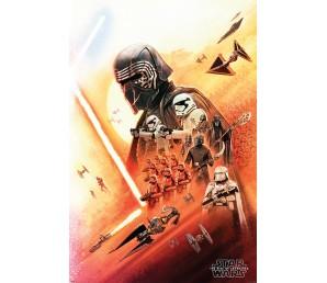 Αφίσα Star Wars The Rise of Skywalker - Kylo Ren