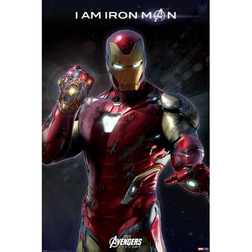 Αφίσα Marvel Avengers Endgame - I Am Iron Man