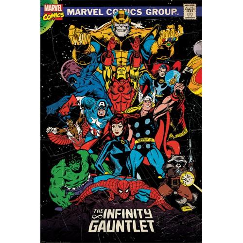 Αφίσα Marvel Comics - The Infinity Gauntlet