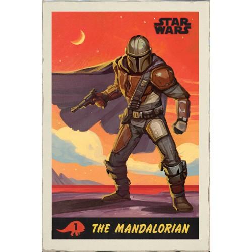 Αφίσα Star Wars - The Mandalorian