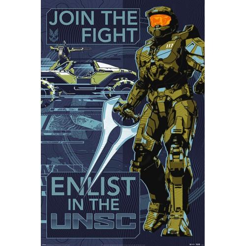 Αφίσα Halo Infinite - Join the Fight