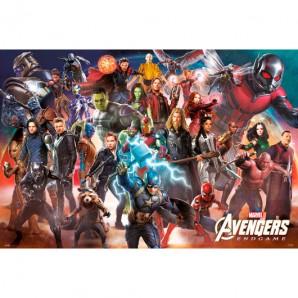Αφίσα Marvel Avengers - Endgame Line Up
